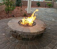 Firepits and Fireplaces